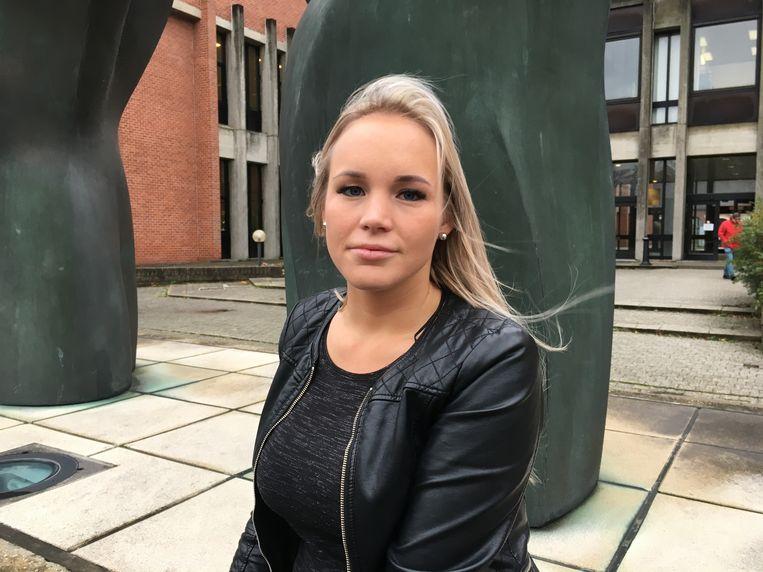 Febe zakte zelf naar de rechtbank af om haar ontvoerder in de ogen te kijken.