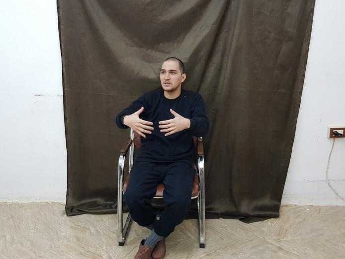 Yago Riedijk tijdens het interview.