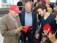 Niki Lauda was ambassadeur van het Waalwijkse bedrijf Novomatic