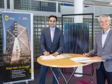 Realisatie project 'iconische Kop van de Singel' in Schiedam stapje dichterbij