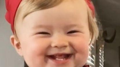 Koddig: 1-jarige Kobe is de nieuwe favoriete chef-kok op het internet