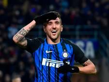 Vecino redt punt voor Internazionale tegen AS Roma