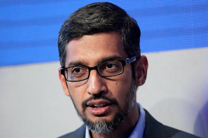 Google-topman Sundar Pichai