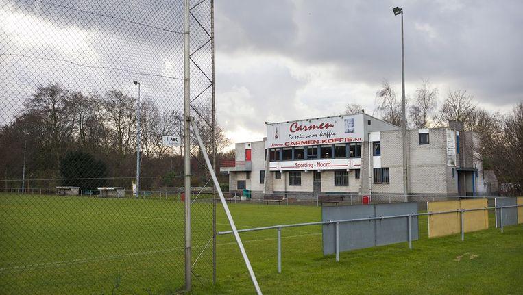 De inmiddels opgeheven voetbalclub Sporting Noord. Beeld Marc Driessen