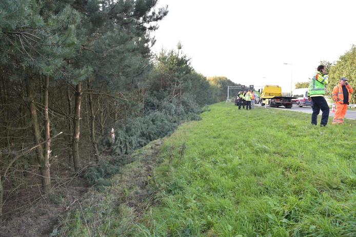 Ongeval op A58/A16.