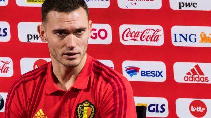 """Vermaelen: """"Kans klein dat ik komende oefeninterland speel, maar verwacht geen problemen voor WK"""""""