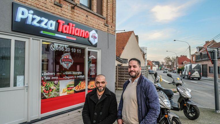 Zohair Qnioun en Jamal Qnioun openen Pizza Taliano.