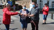 Weer markt in Maldegem: 14 personeelsleden ontsmetten handen op eerste marktdag na corona