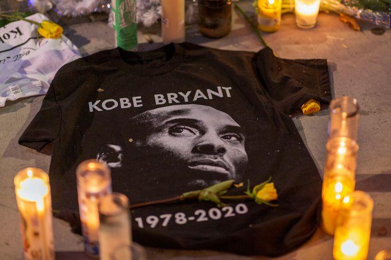Een eerbetoon aan Kobe Bryant.