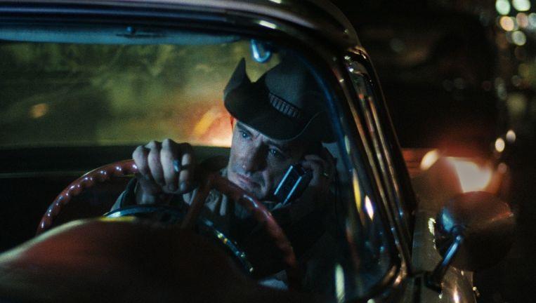 Dennis Hopper in Der amerikanische Freund. Beeld .