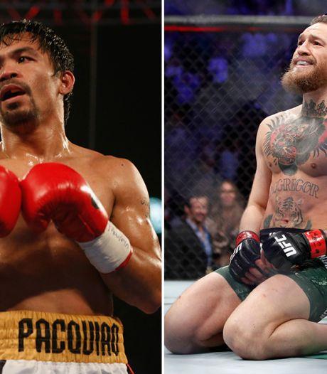 'Episch' gevecht tussen Pacquiao en McGregor op komst