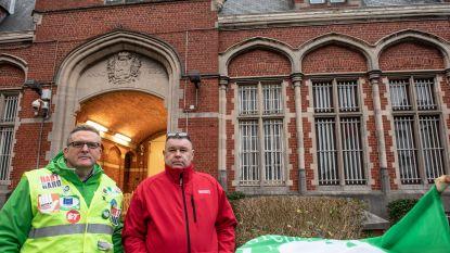 Derde personeel gevangenissen aan het werk in Vlaanderen, ruim helft in Wallonië, Brussel zwaarst getroffen