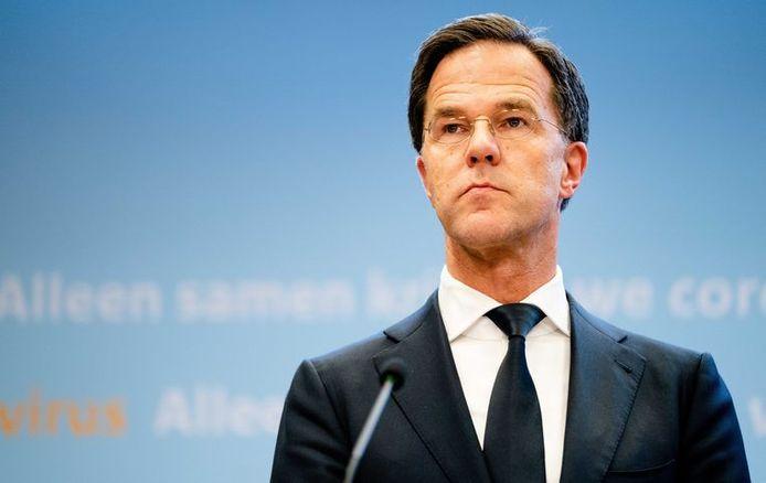 Le Premier ministre néerlandais Mark Rutte.