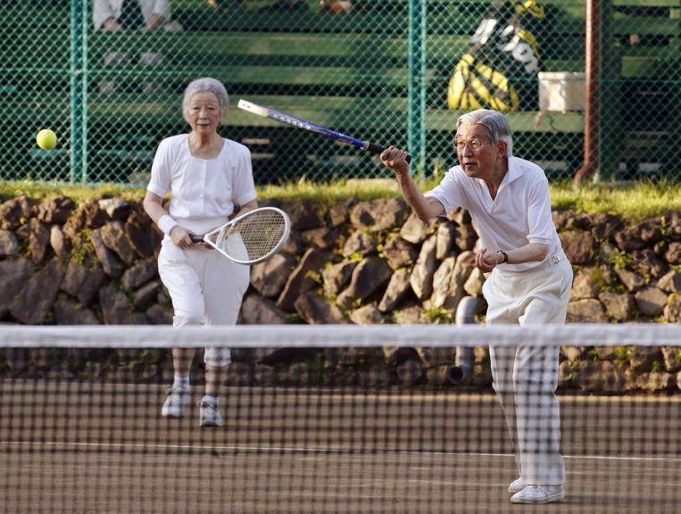 De liefde voor het tennisspel bleef.