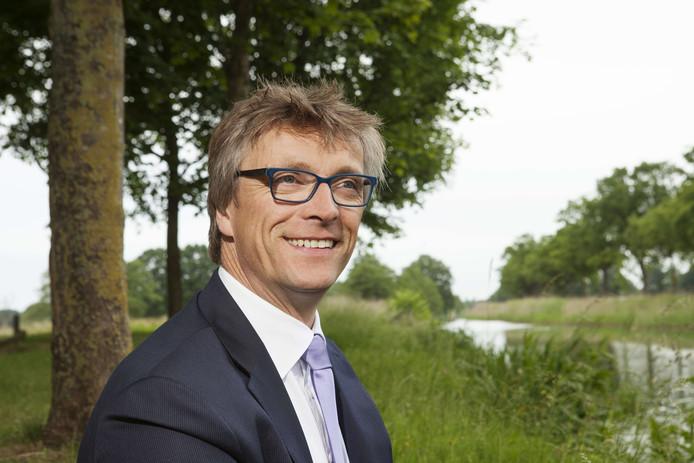 Dirk-Siert Schoonman van waterschap Vallei en Veluwe.