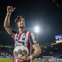 Fran Sol maakte vorig seizoen een hattrick tegen PSV (5-0).