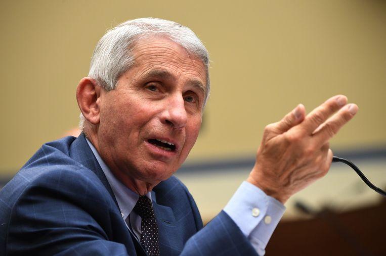 De Amerikaanse immunoloog Anthony Fauci.