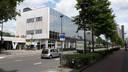 Het gebouw aan de Spoorlaan, een voormalige postkantoor.