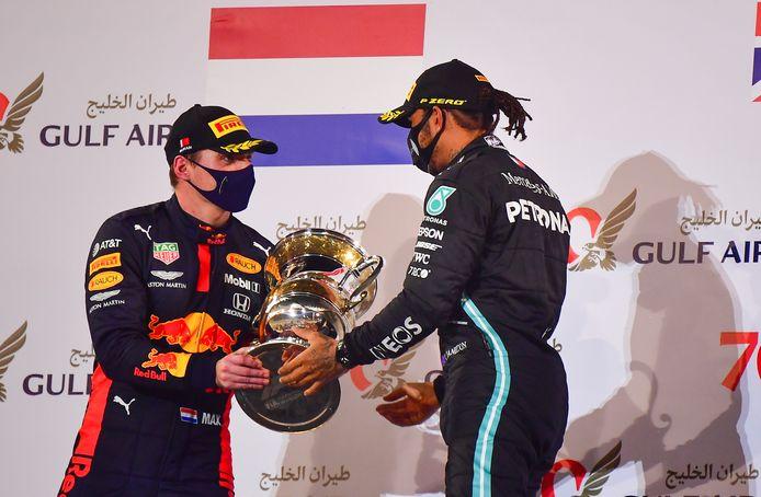 Max Verstappen hoopt Lewis Hamilton komend seizoen van de troon te stoten.