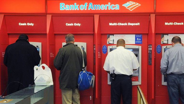 Bank of America verkocht de meeste Russische belangen. Beeld AP