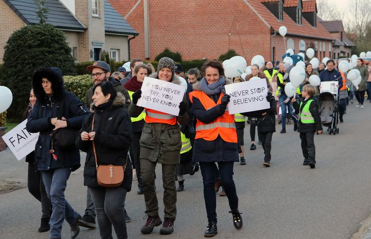 De mars bracht tientallen mensen op de been.