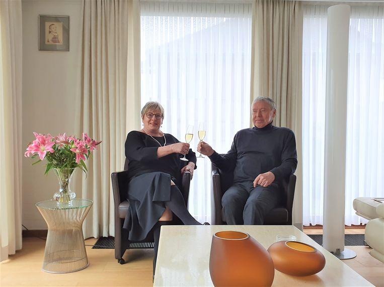 In januari en februari wonnen Anne-Lies en Bert nog de Peugeot 108 toen ze gingen winkelen bij Synonyme in de Stapelstraat