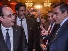 Weer Franse rel: Fillon beschuldigt Hollande, Hollande ontkent
