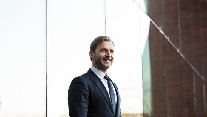 Patrick Lammers, sinds 1 januari 2017 de nieuwe bestuursvoorzitter van energiebedrijf Essent
