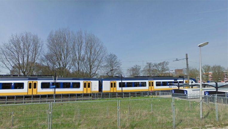 Het station van Waddinxveen. Beeld GOOGLE STREETVIEW