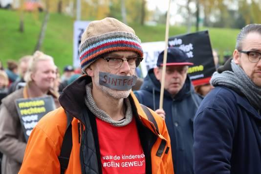 Een betoger