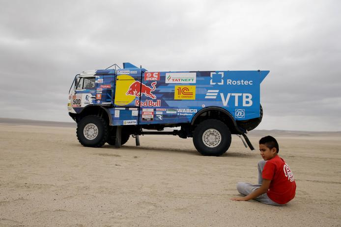 Eduard Nikolaev kan zijn Dakar-titel prolongeren.