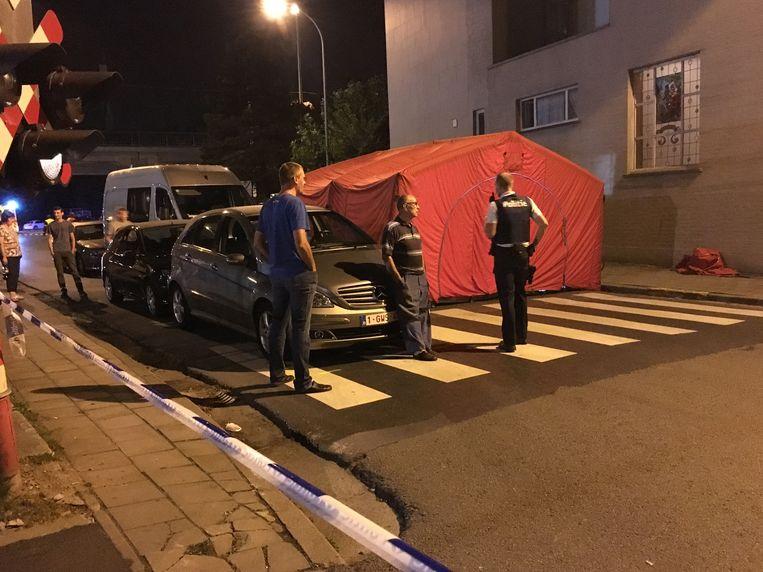 Het ongeval gebeurde aan het station in Izegem. Vier auto's waren betrokken, maar buiten Willy raakte niemand gewond.