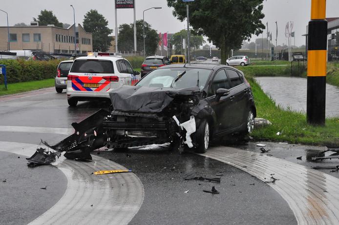 De betrokken auto's zijn total loss.