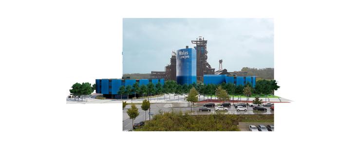 Voormalig hoogovencomplex in Dortmund wordt nieuw leven ingeblazen door eigenaar van Spinnerij Oosterveld in Enschede.