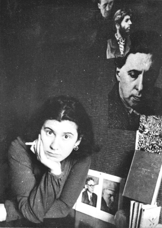 Etty Hillesum in 1937. Beeld null
