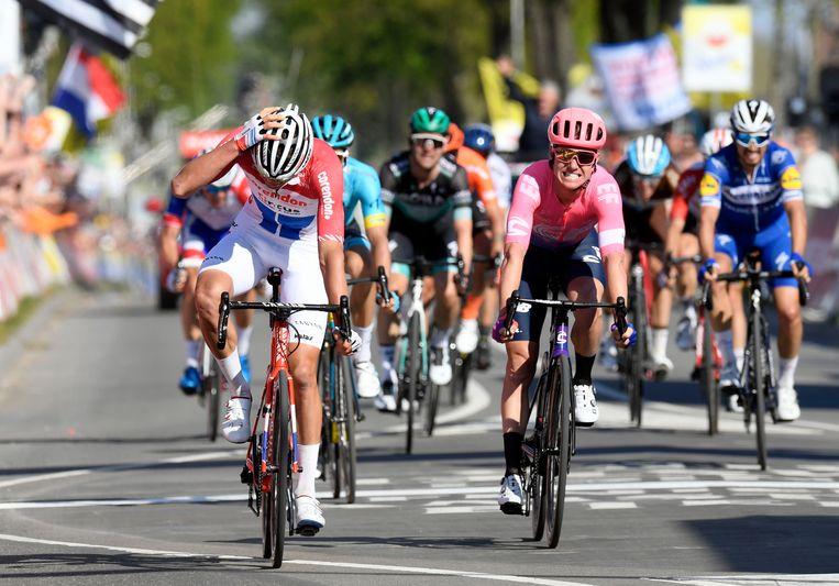 Van der Poel wint de Amstel Gold Race en ging daarvoor erg diep. Mogelijk levert hem dat op het einde van de rit nog een bonus van enkele extra levensjaren op.