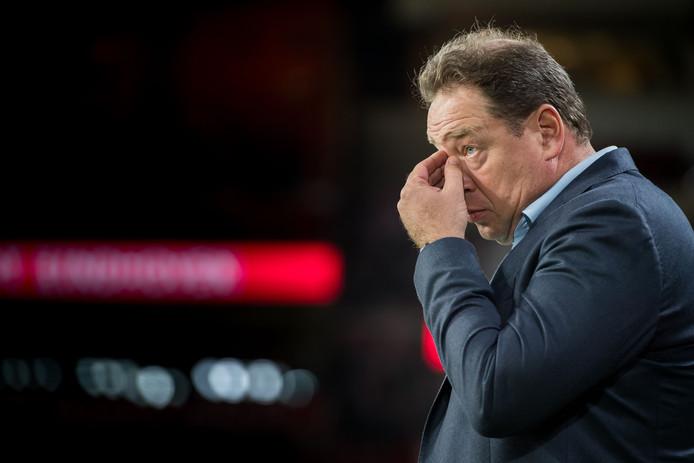 Leonid Sloetski verwacht een reactie van Vitesse na de zeperd tegen PSV van vorige week.
