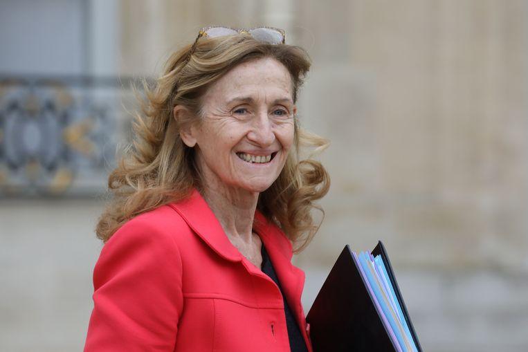 De Franse minister van Justitie Nicole Belloubet.
