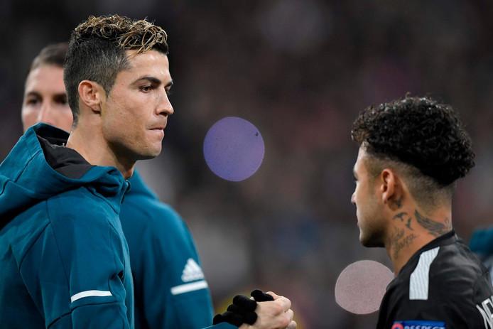 Cristiano Ronaldo, quand il évoluait au Real, salue Neymar