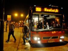 Stappen in Tilburg en Breda en met de nachtbus weer terug naar Dongen