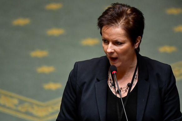 Annick Ponthier (Vlaams Belang).