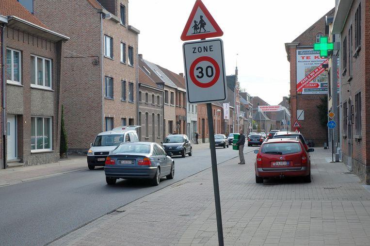Illustratiefoto: er zijn plannen om de zone 30 uit te breiden in Moerbeke.