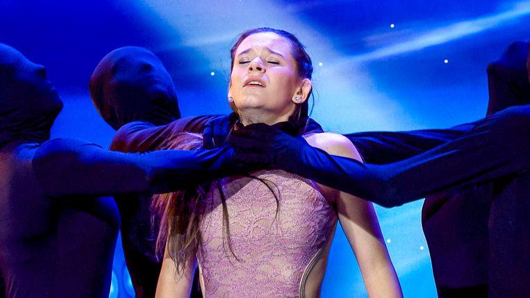 Lana Verkest waagt haar kans tijdens de audities van Belgium's Got Talent.