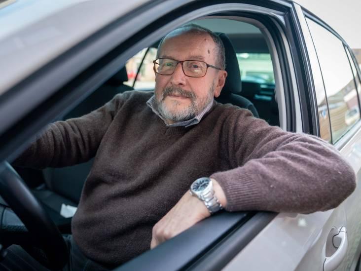 Peter Runge rijdt graag auto. 'En zo hoor je nog eens wat'