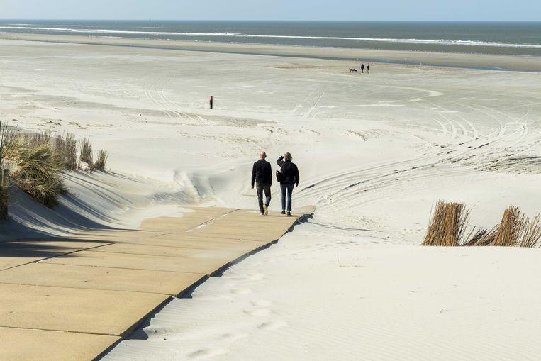 Het strand van Ameland.  Beeld ANP