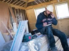 Aantal werkeloze bouwvakkers daalt met 50 procent in Gouda