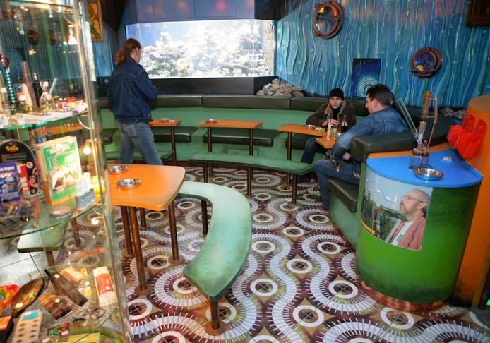 Coffeeshop Checkpoint bediende meer dan 1.500 klanten per dag.