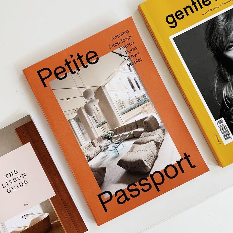 Reisjournalist Pauline Egge brengt na een reeks stedengidsen haar eerste reismagazine uit, in eigen beheer nog wel. € 20. petitepassport.com. Beeld null