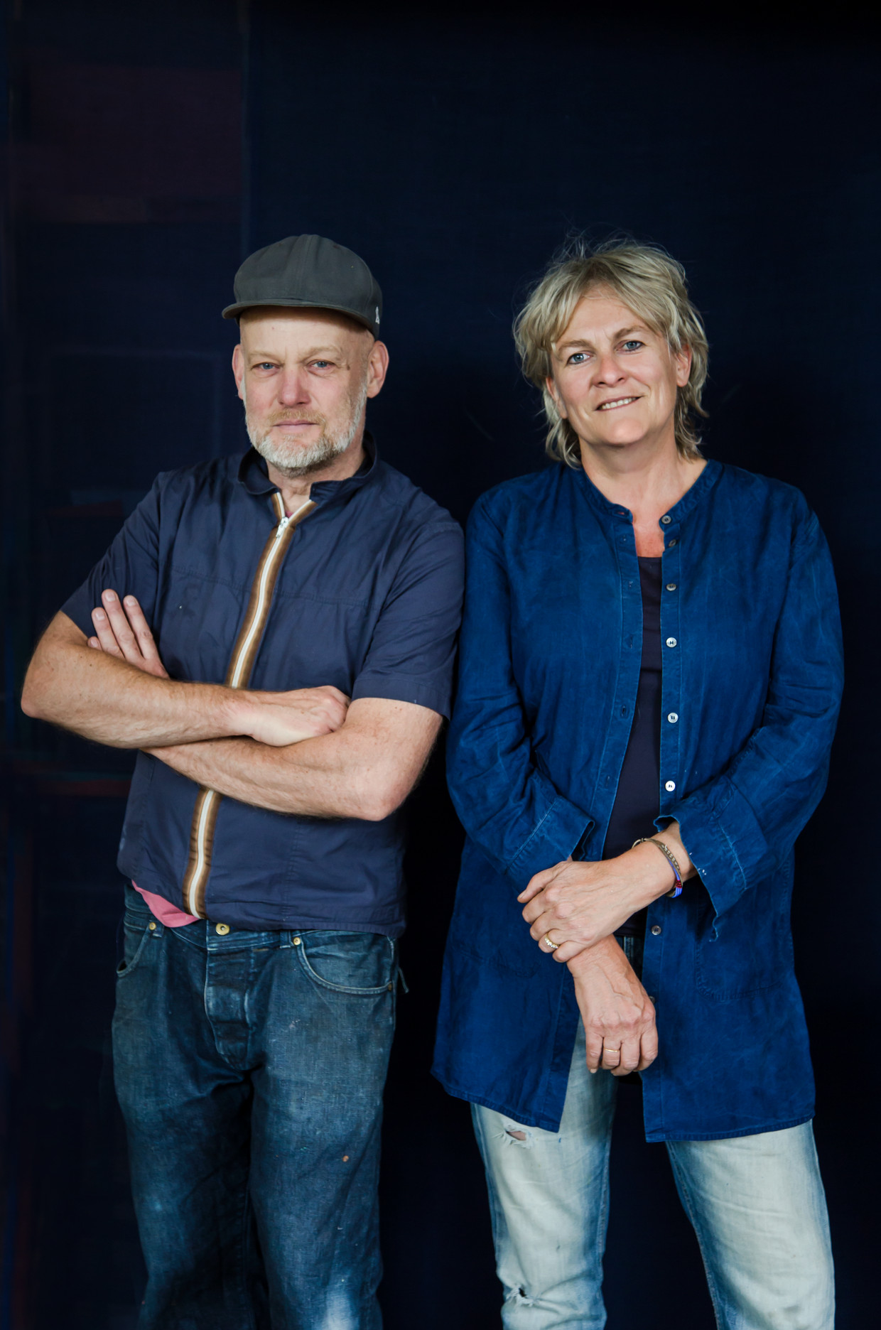 Frank Visser en Mirjam Bleeker