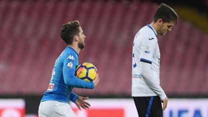 VIDEO: Mertens scoort weer, maar Castagne doet hetzelfde en knikkert Napoli uit de beker